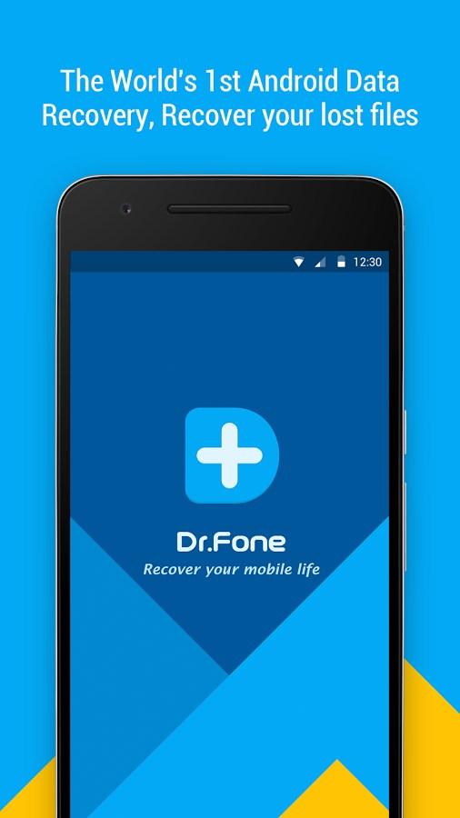 Dr. Fone – Recover Deleted Data - Imagem 1 do software