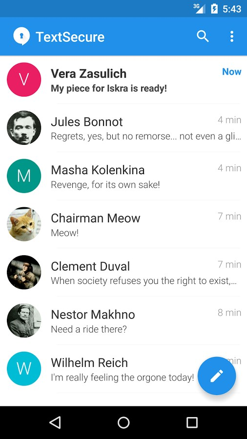 Signal Private Messenger - Imagem 1 do software