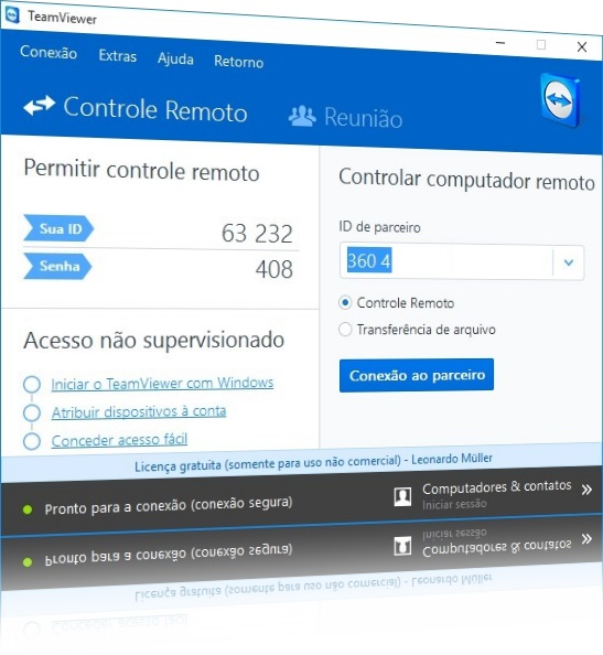 TeamViewer - Imagem 1 do software