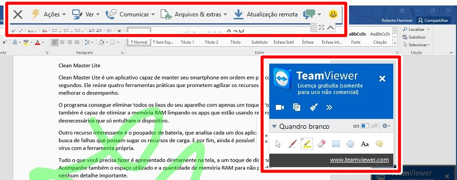 TeamViewer - Imagem 2 do software