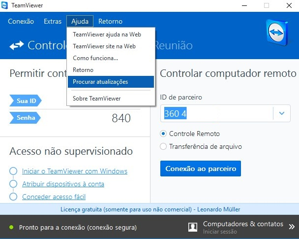 TeamViewer - Imagem 3 do software
