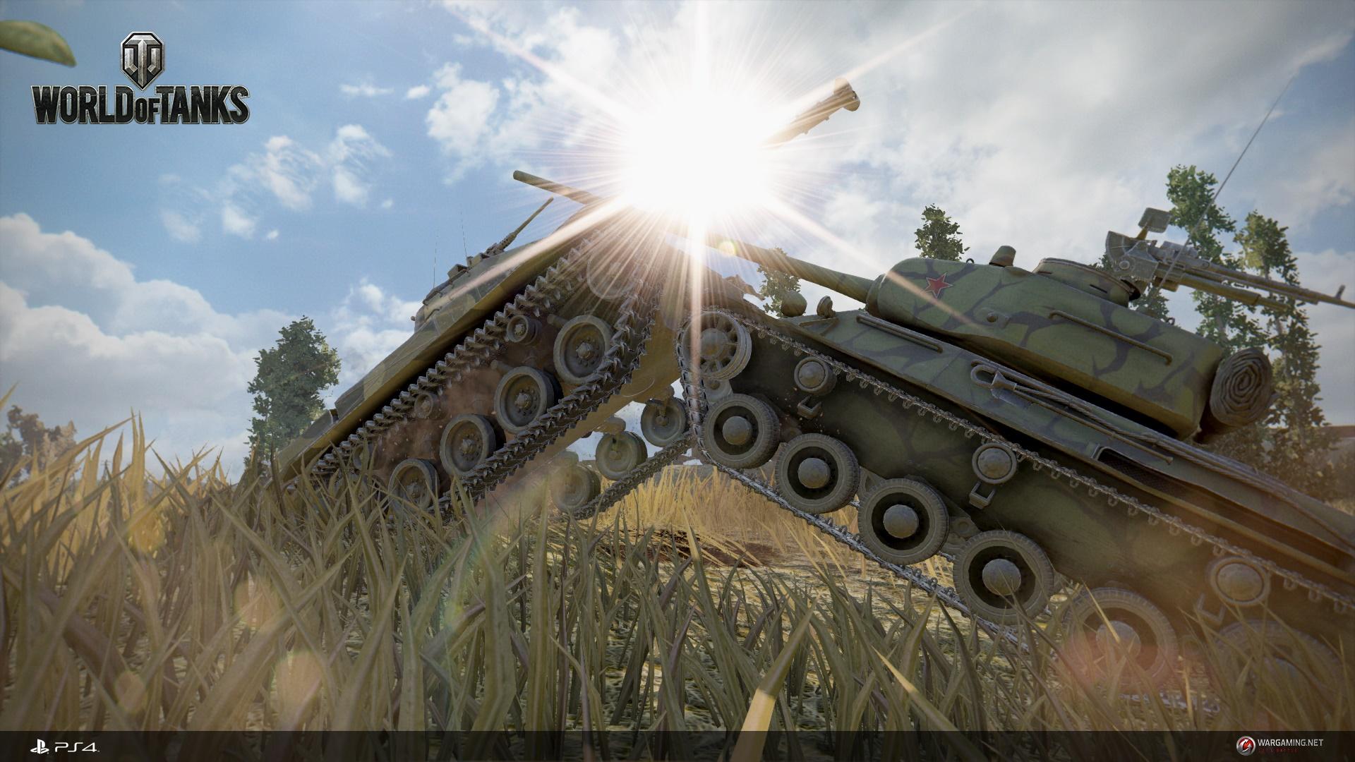 Ao ataque! Veja algumas imagens de World of Tanks para PlayStation 4