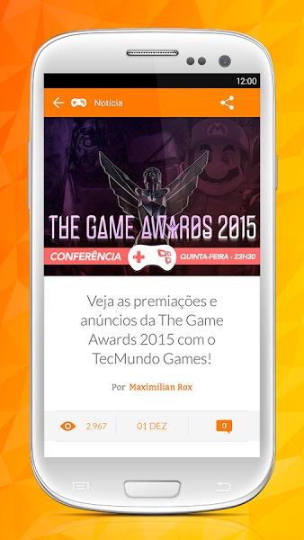 TecMundo Games - Imagem 2 do software