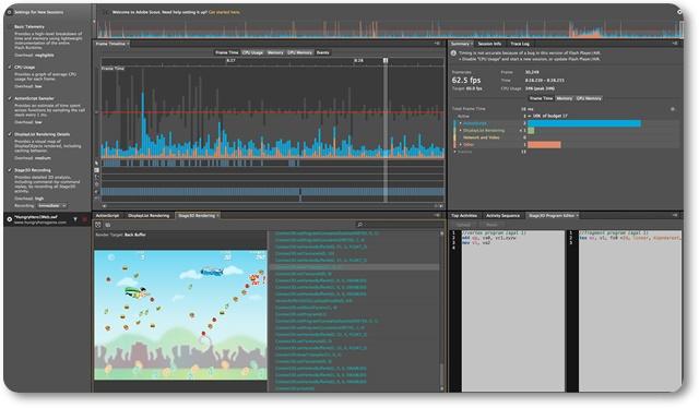 Adobe Scout - Imagem 1 do software