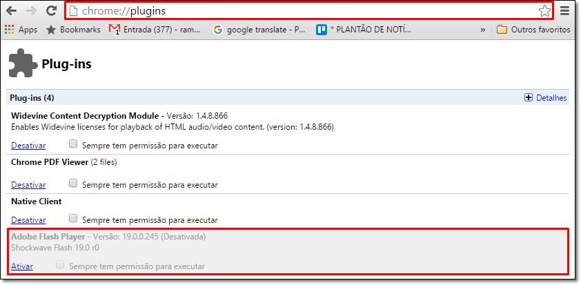 Tutorial: como desativar o Adobe Flash no Chrome, Firefox e