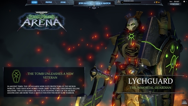 Warhammer 40.000: Dark Nexus Arena - Imagem 1 do software