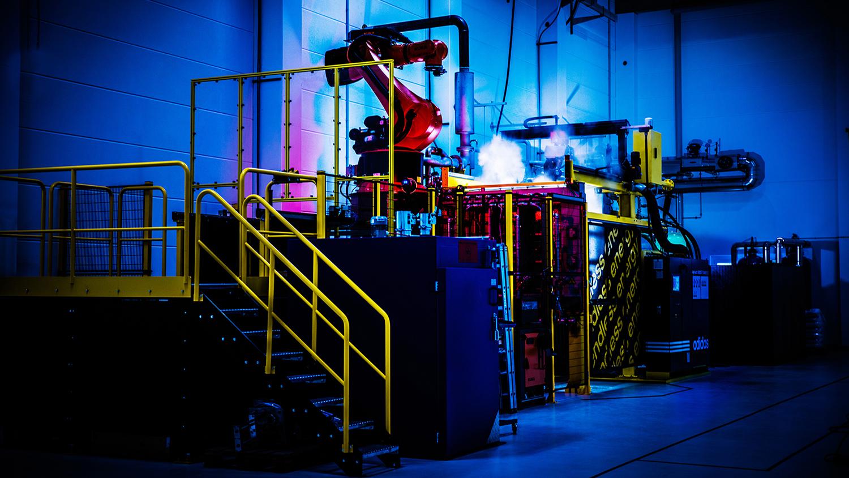 ea6f925c05f Speedfactory  fábrica automatizada da Adidas cria calçados rapidamente