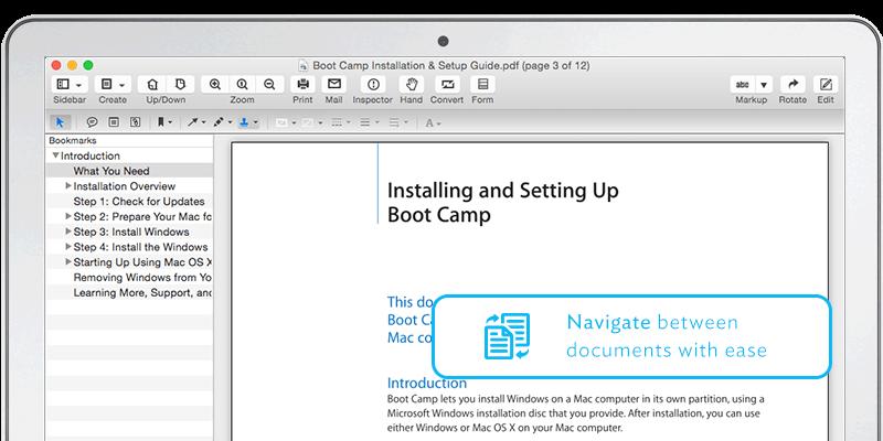 Wondershare PDFelement for Mac - Imagem 2 do software