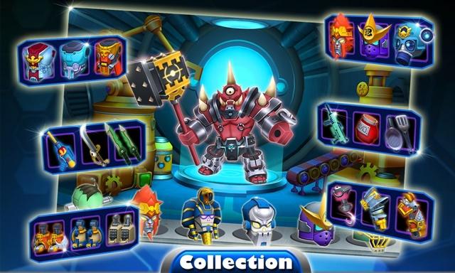 Herobots - Build to Battle - Imagem 2 do software