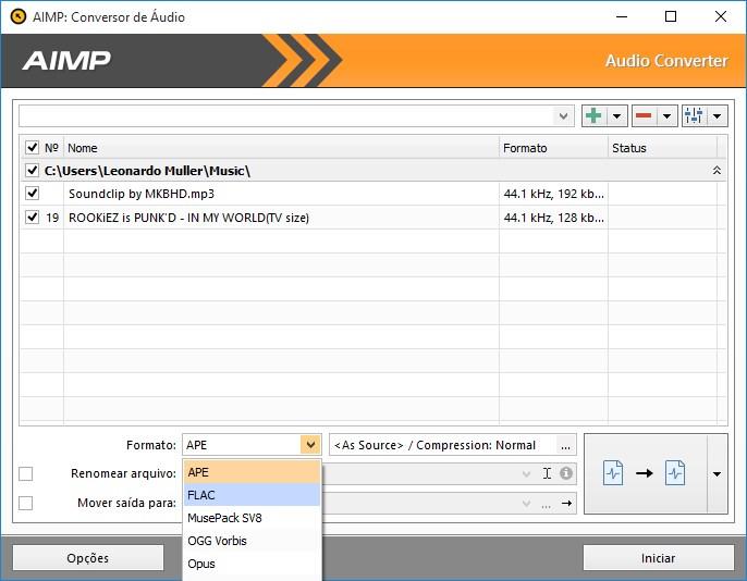 AIMP - Imagem 3 do software