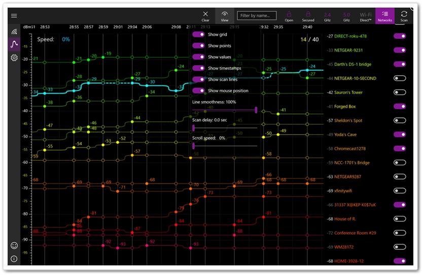 WiFi Commander: Scanner & Monitor - Imagem 1 do software