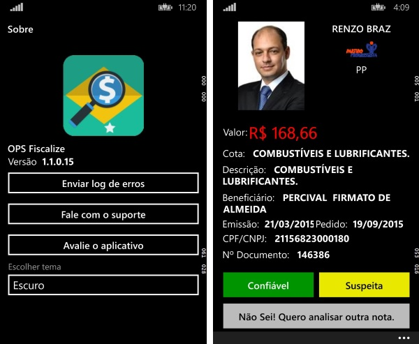 OPS Fiscalize - Imagem 1 do software