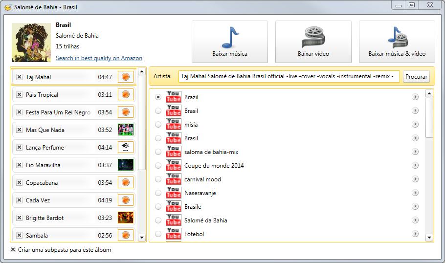 Abelssoft YouTube Song Downloader - Imagem 1 do software