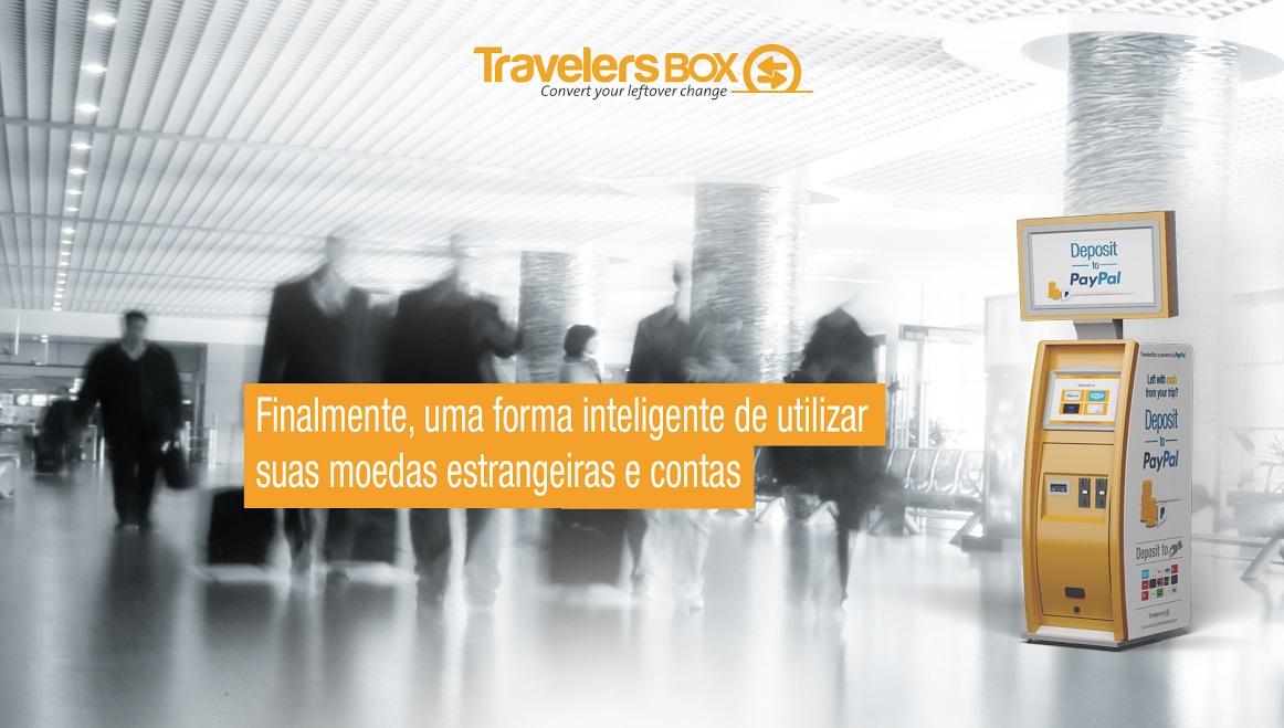 TravelersBox, o sistema que transforma troco estrangeiro em moeda digital