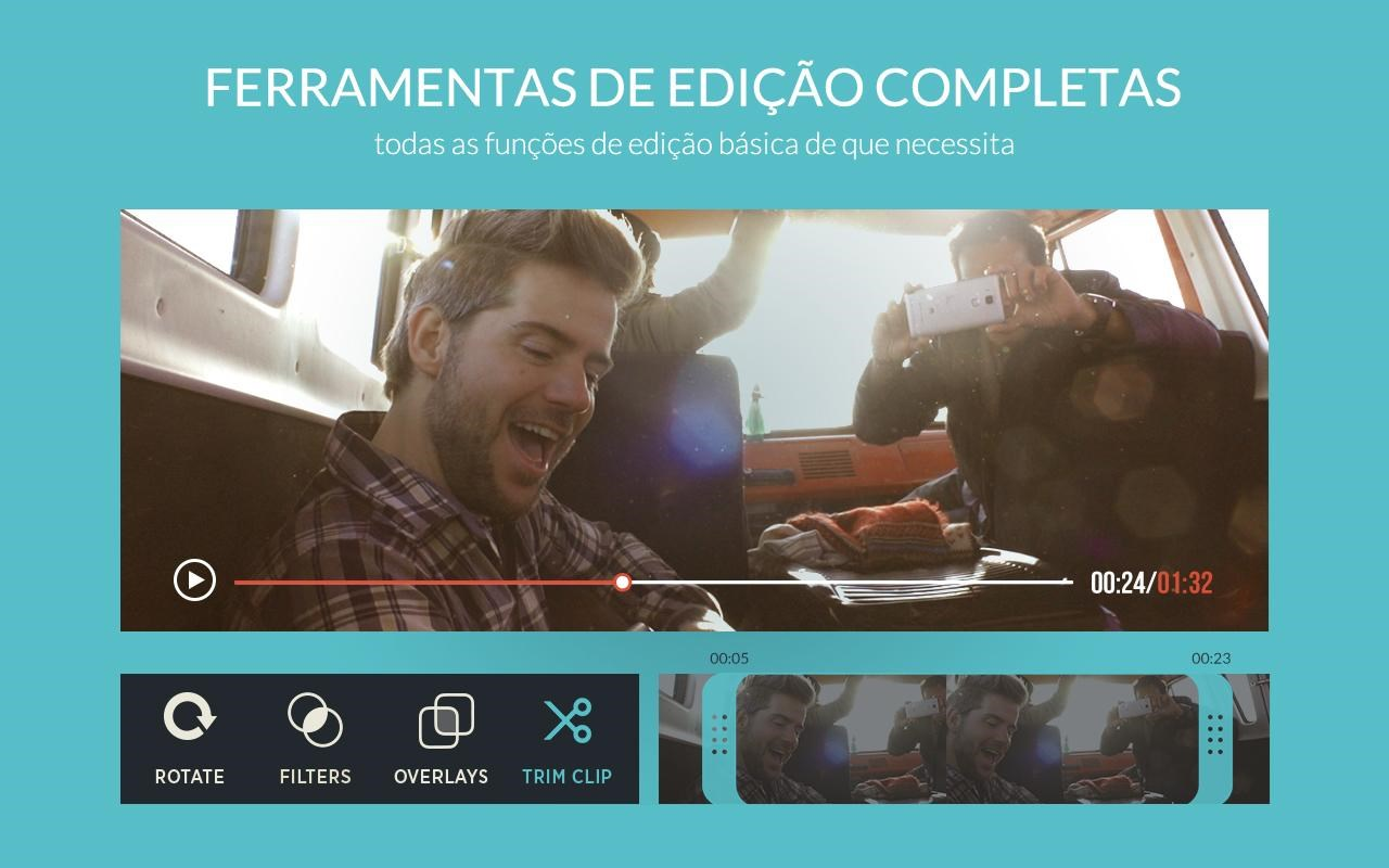 FilmoraGo - Editor de vídeo - Imagem 1 do software
