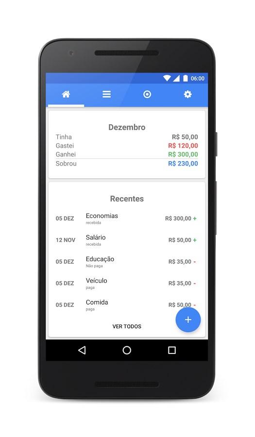 Controle Financeiro Wisecash - Imagem 1 do software
