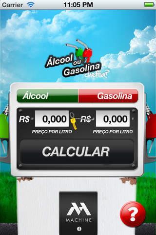 Alcool ou Gasolina, Chefia? - Imagem 1 do software