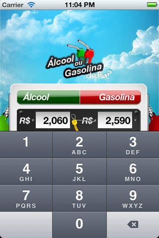 Alcool ou Gasolina, Chefia? - Imagem 2 do software