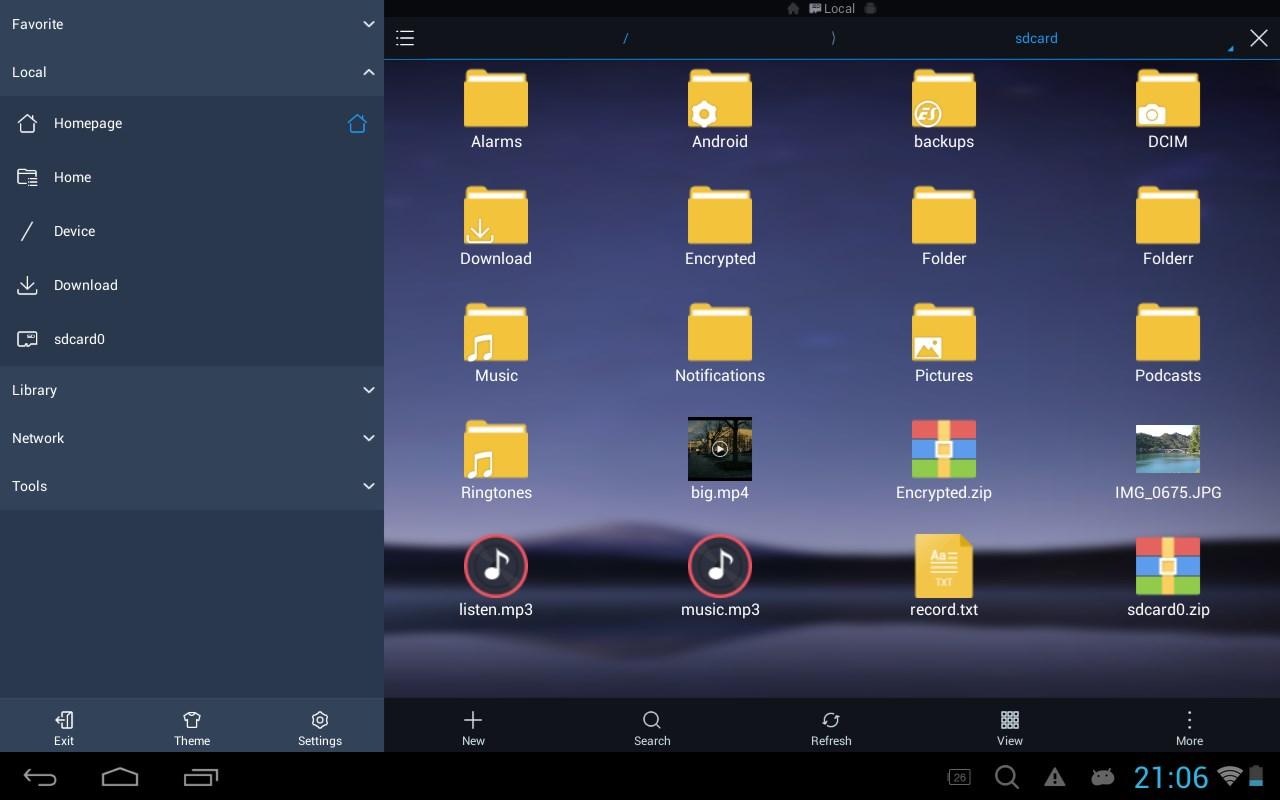 ES File Explorer Pro - Imagem 1 do software
