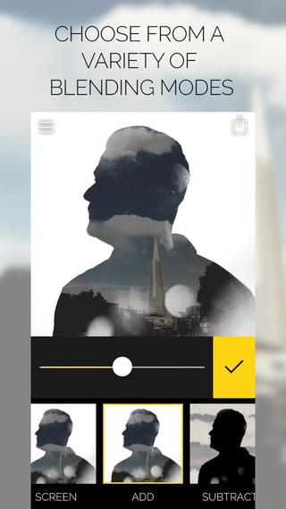 Fused : Double Exposure, Video and Picture Blender - Imagem 2 do software
