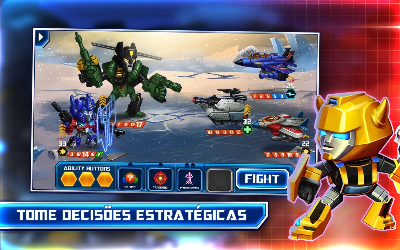 TRANSFORMERS: Battle Tactics - Imagem 1 do software