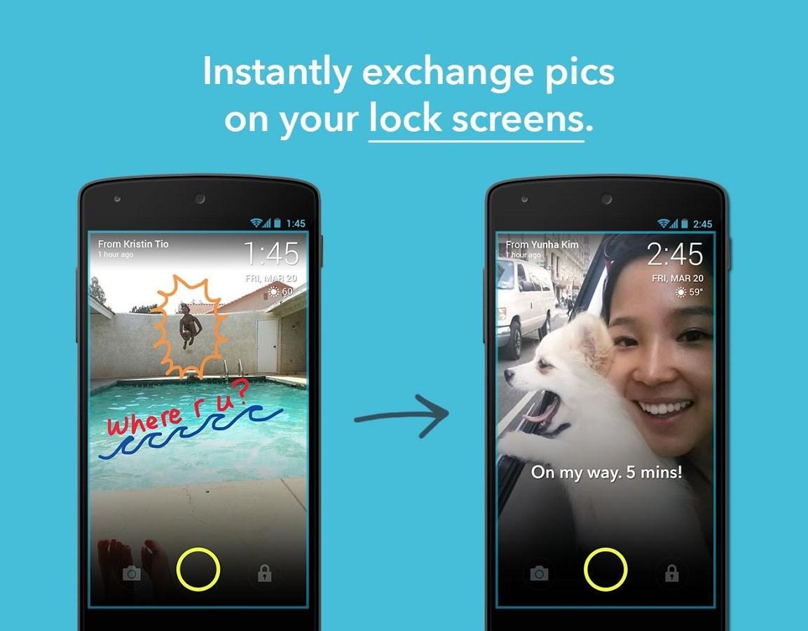 ScreenPop Lockscreen Messenger - Imagem 1 do software