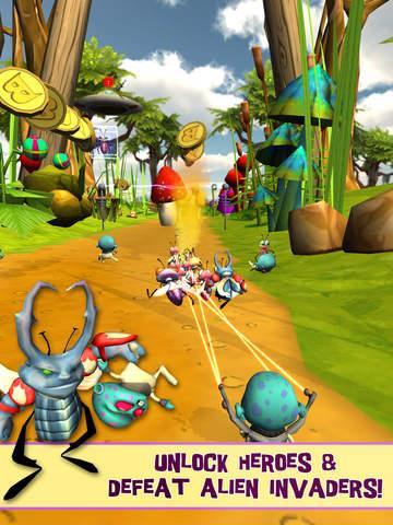 Bugs vs. Aliens - Imagem 1 do software