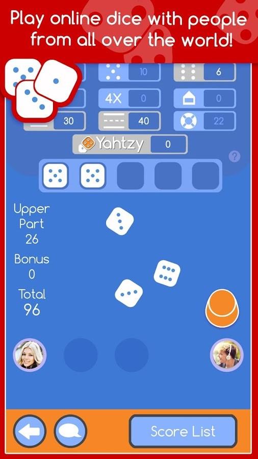 Yahtzy LIVE Online Multiplayer - Imagem 1 do software