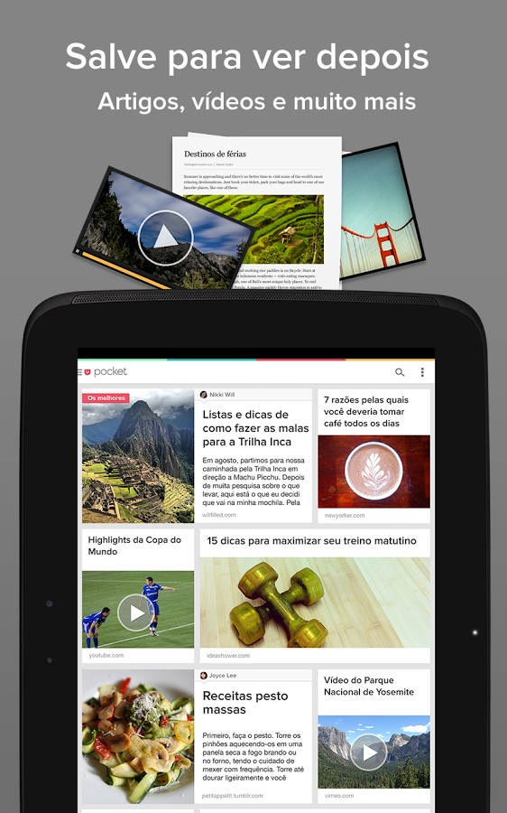 Pocket - Imagem 1 do software