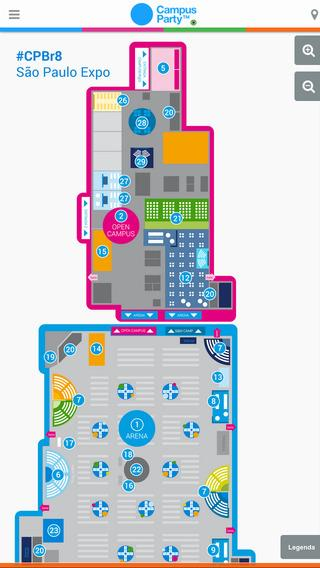 Campus Party Brasil - Imagem 1 do software