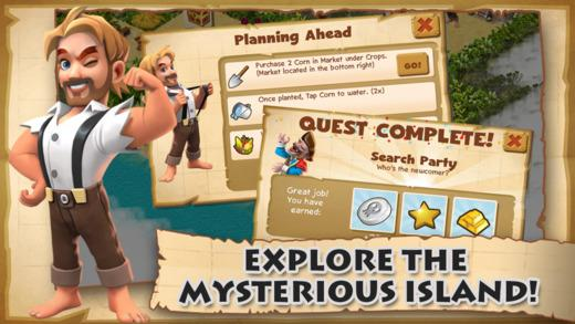 Shipwrecked: Lost Island - Imagem 1 do software