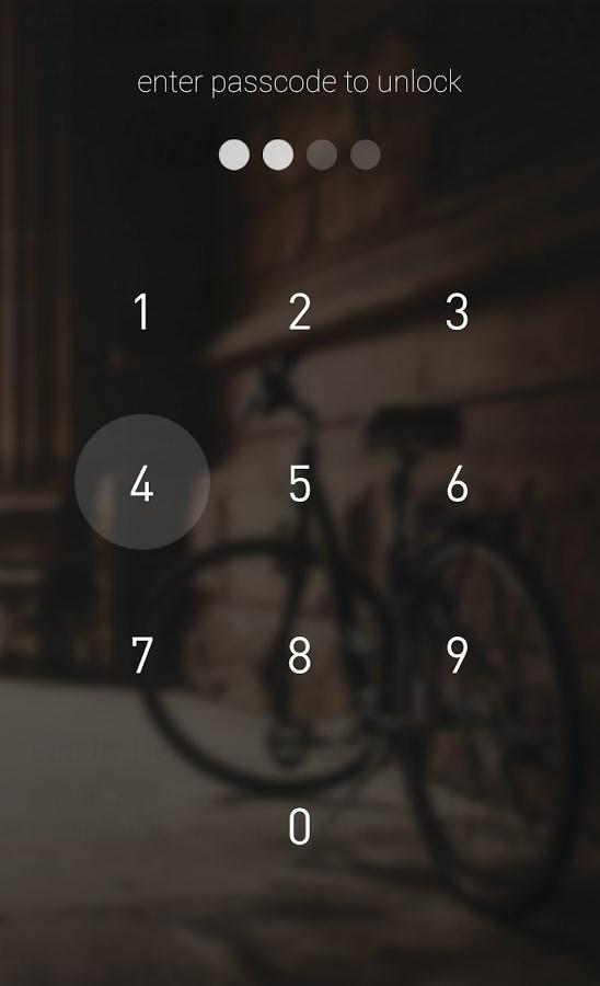 Passcode Lock Screen - Imagem 2 do software
