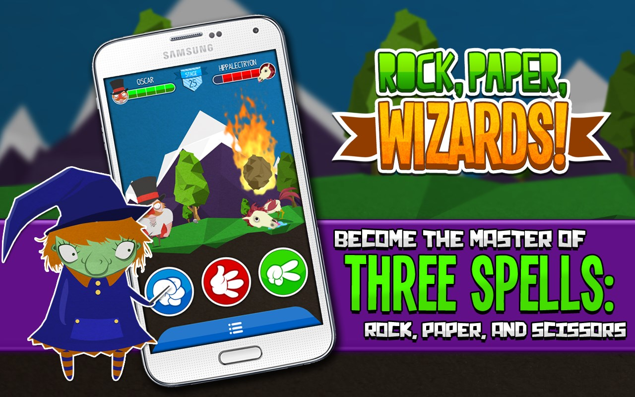 Rock, Paper, Wizards! HD - Imagem 1 do software