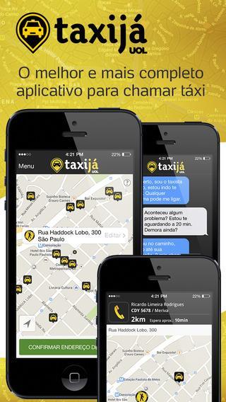 Taxi já UOL - Táxi no celular - Imagem 1 do software