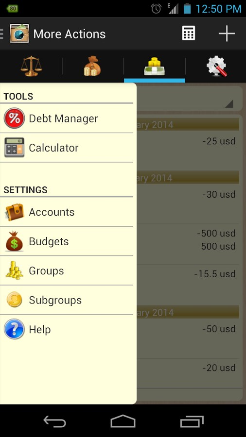 My Money Tracker - Imagem 2 do software