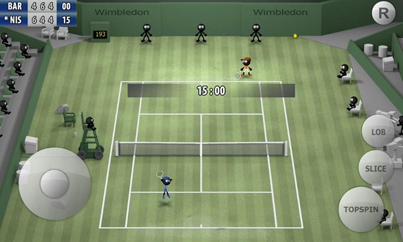 Stickman Tennis 2015 - Imagem 1 do software