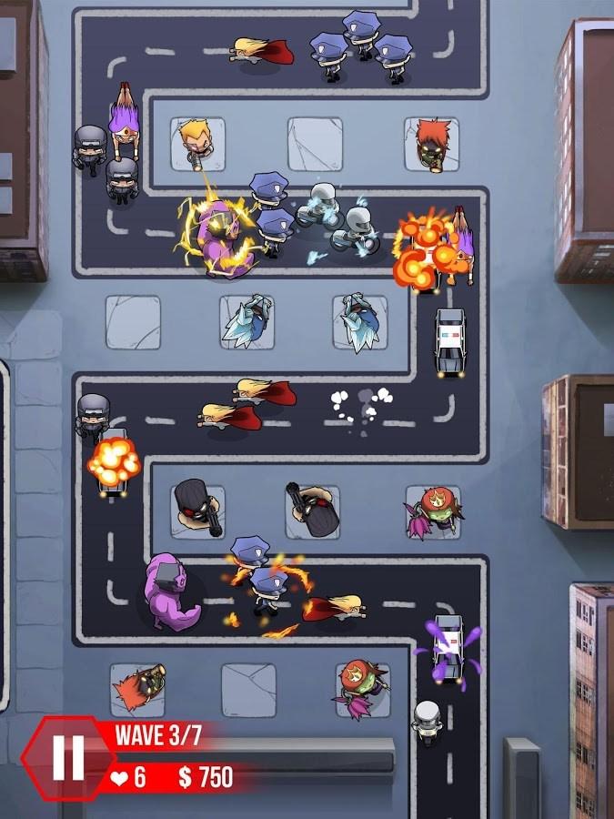 Tower Defense : Super Heroes - Imagem 1 do software