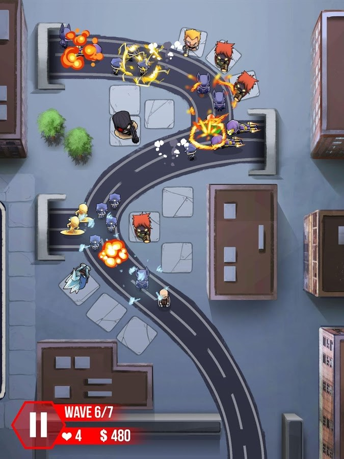 Tower Defense : Super Heroes - Imagem 2 do software