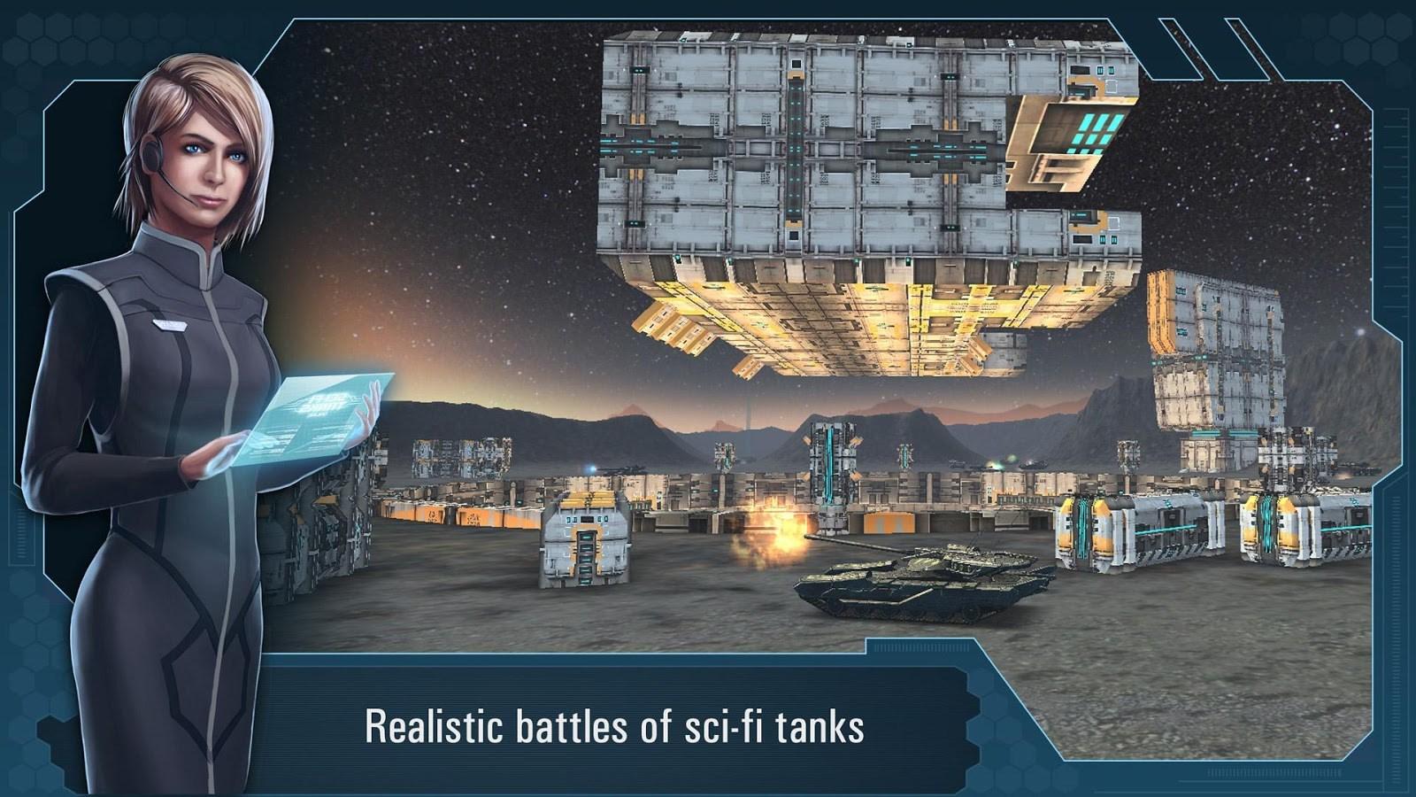 Future Tanks: 3D Online Battle - Imagem 1 do software