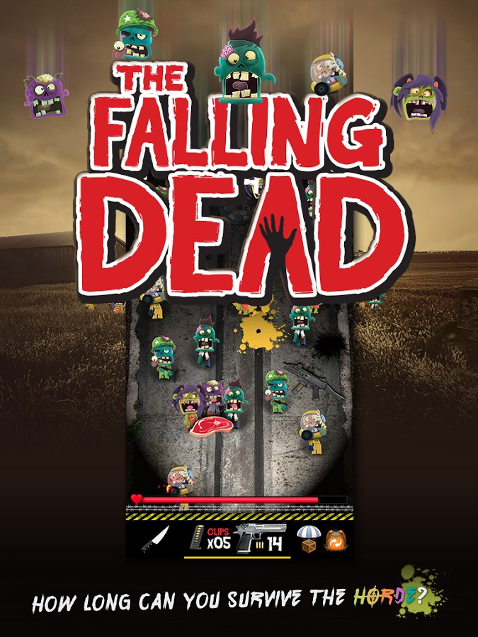 The Falling Dead - Zombies - Imagem 1 do software