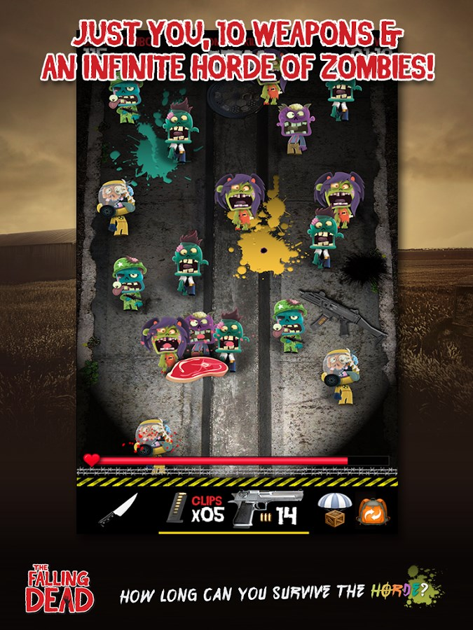 The Falling Dead - Zombies - Imagem 2 do software