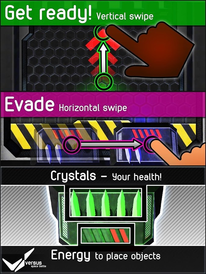 Versus Space Battle (2 Player) - Imagem 1 do software