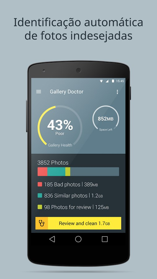 Gallery Doctor - Phone Cleaner - Imagem 1 do software