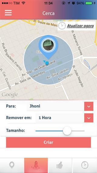 WeSafe Protetor - Imagem 1 do software