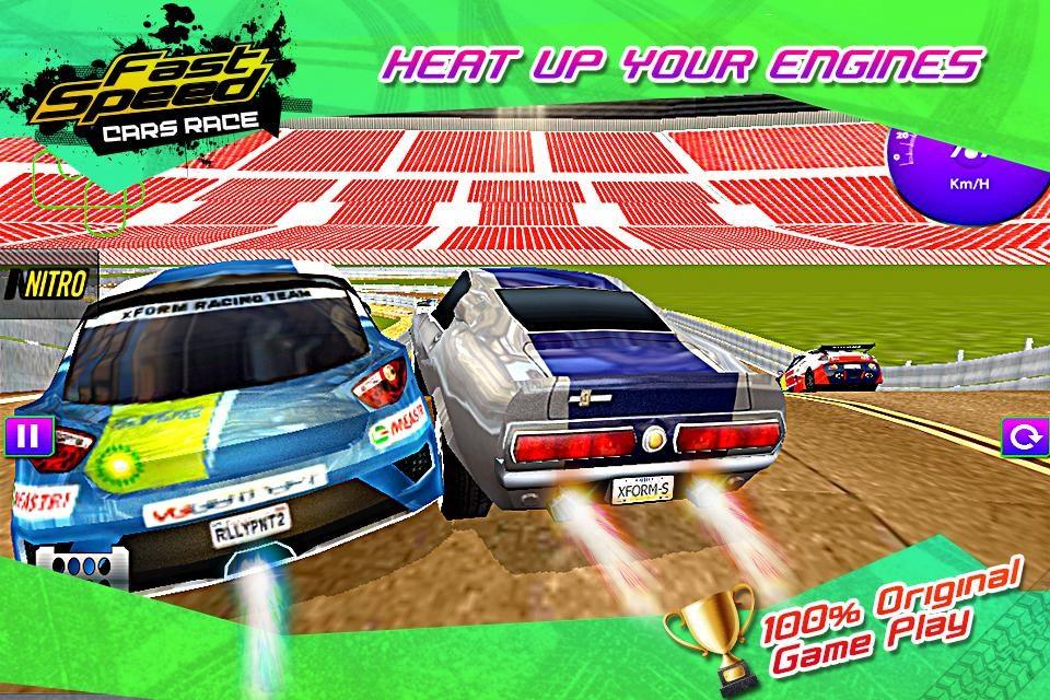 Fast Speed Race Car 3D - Imagem 1 do software