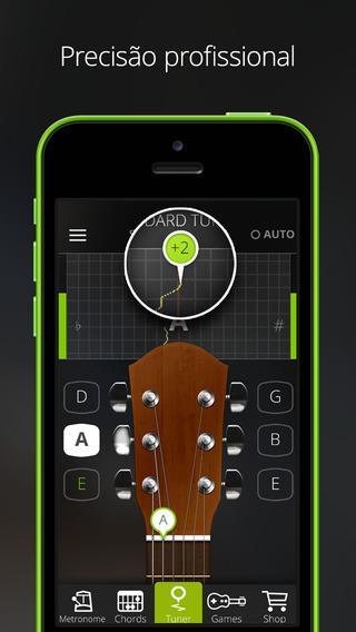 Guitar Tuna - Afinador de Violão Gratuito - Imagem 1 do software