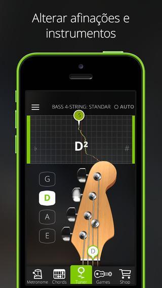 Guitar Tuna - Afinador de Violão Gratuito - Imagem 2 do software
