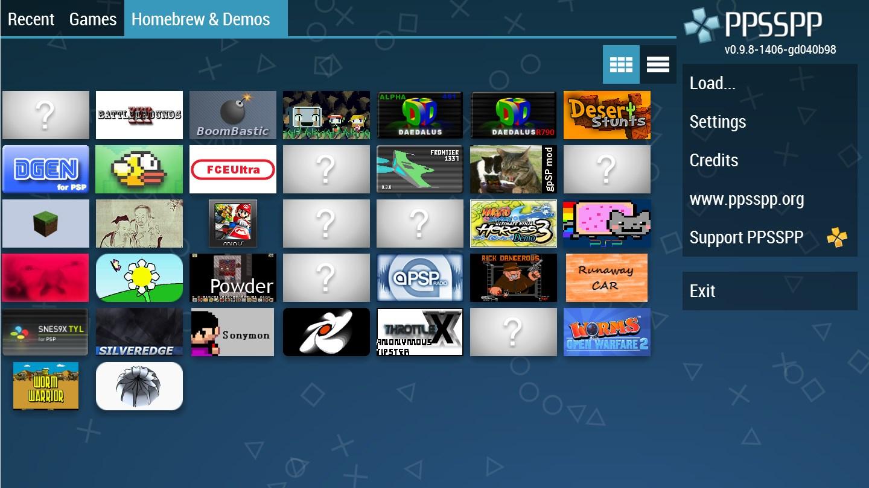 PPSSPP Gold - PSP emulator - Imagem 1 do software