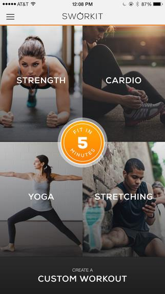 Sworkit Lite Personal Trainer - Imagem 1 do software