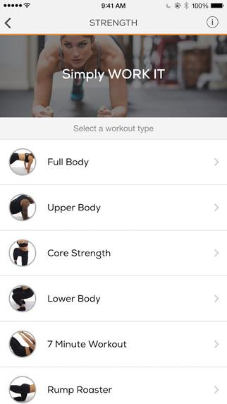 Sworkit Lite Personal Trainer - Imagem 2 do software